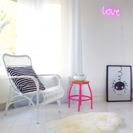 Neon Style Light Love - Pink Pink A Little Lovely Company