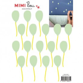 Just a touch - Balloons Green MIMI'lou