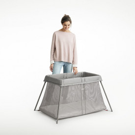 Travel Cot Easy Go Bundle - Anthracite Grey BabyBjörn