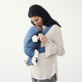 Baby Carrier Mini Cotton - Indigo Blue BabyBjörn