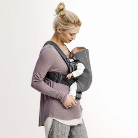 Baby Carrier Mini 3D Jersey - Dark Grey Grey BabyBjörn
