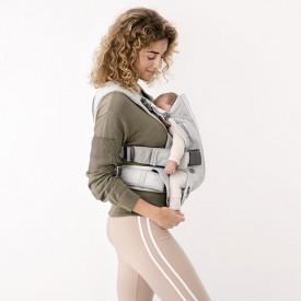 Baby Carrier Mesh - Silver Grey BabyBjörn