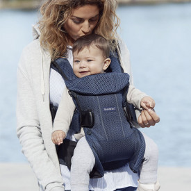 Baby Carrier Mesh - Navy Blue Blue BabyBjörn