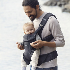 Baby Carrier Mesh - Anthracite Grey BabyBjörn