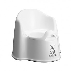 Potty Chair - White/Grey White BabyBjörn