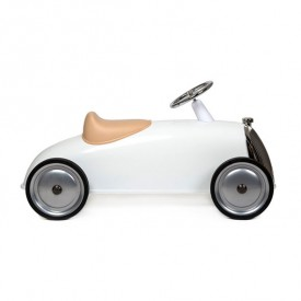 Rider Ride-On - Snow White  White Baghera
