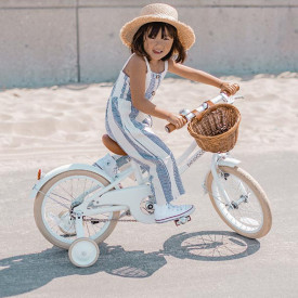 Vintage Classic Bicycle - White White Banwood