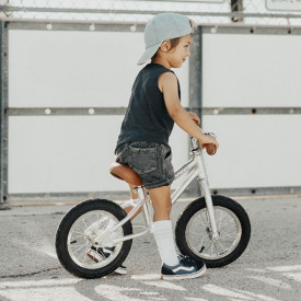 First Go Balance Bike - Chrome Metal Banwood