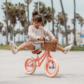 First Go Balance Bike - Coral  Pink Banwood