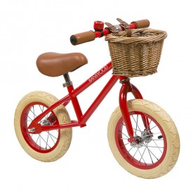 First Go Balance Bike - Red Red Banwood