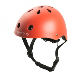 Bike Helmet - Red Red Banwood