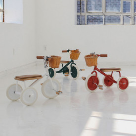 Trike Bike - Red  Red Banwood