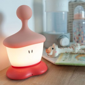 Pixie Stick Night Light - Coral Pink Béaba