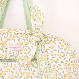 Weekend Bag - Banhi Bergamote Green Bindi Atelier