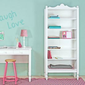 Belle Bookshelves White Bopita