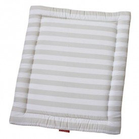Playpen Mat - Twin Size - Stripes Grey Bopita