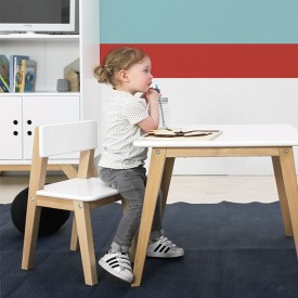 Playtable Rectangular - Ivar White Bopita
