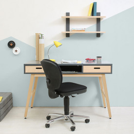 Writing Desk Kyan Grey Bopita