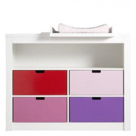Changing Unit M Mix & Match - White White Bopita