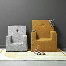 Kids Chair XL - Mustard / Mustard Yellow by KlipKlap