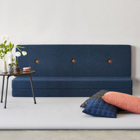 Mattress 3 Fold - Dark Blue / Orange Blue by KlipKlap