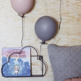 Ceramic Balloon Decoration - S - Grey  Grey ByON