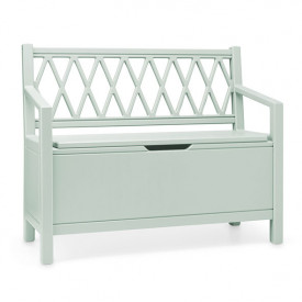 Harlequin Storage bench - Dusty Green  Green Cam Cam Copenhagen