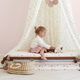 Moses basket for dolls - White White Cam Cam Copenhagen