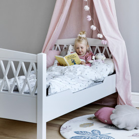 Junior Bed Harlequin 90x160cm - Light Sand Beige Cam Cam Copenhagen