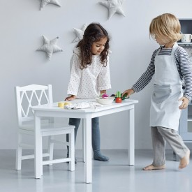 Harlequin Kids Table - White White Cam Cam Copenhagen