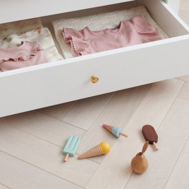 Wooden Ice Cream Set Multicolour Cam Cam Copenhagen