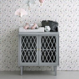 Harlequin Changing table - Grey - Blanc  Grey Cam Cam Copenhagen