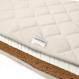 66x120cm Natural Coco Mattress for Kimi Bed White Charlie Crane