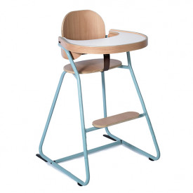 Convertible High Chair Tibu - Blue Blue Charlie Crane