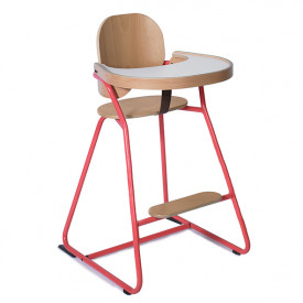 Convertible High Chair Tibu - Red Red Charlie Crane