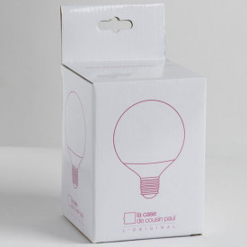 LED Lightbulb for M lampshade White La Case de Cousin Paul