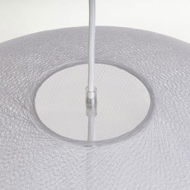 Lampshade Globe Light - XXL - White White La Case de Cousin Paul
