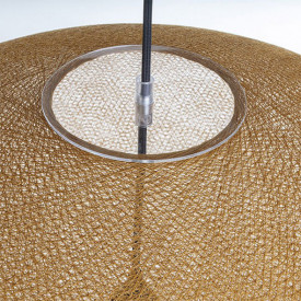 Lampshade Globe Light - XXL - Tobacco Brown La Case de Cousin Paul