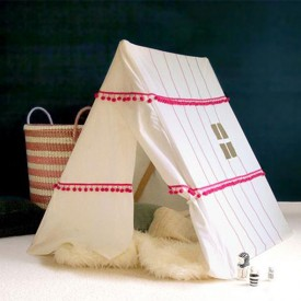 Berber Tent - Pink - Limited Edition White Deuz