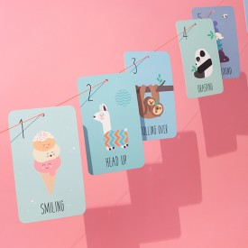 My first 12 months - Growing cards Multicolour Donkey