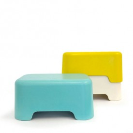 BANO Step Stool - Lagoon  Blue Ekobo
