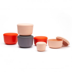 Nomad Container Store&Go 750ml - Persimmon Red Ekobo
