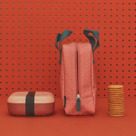 Isothermic Lunch Bag - Coral Pink Ekobo