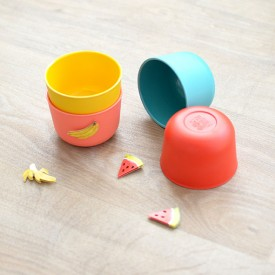 Ice cream set Bambino - Retro Multicolour Ekobo