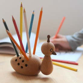Peacock pencil holder Nature Elements Optimal