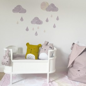 Dolls Bed - White White Sebra