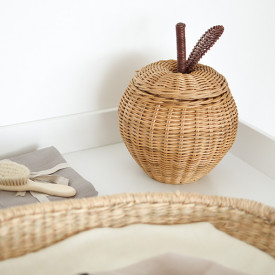 Small Apple Braided Storage  Nature Ferm Living Kids