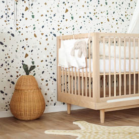 Terrazzo Wallpaper - Grey Grey Ferm Living Kids