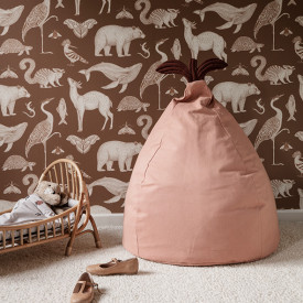 Pear Beanbag - Dusty Rose Pink Ferm Living Kids