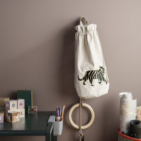 Safari Storage Bag - Tiger Beige Ferm Living Kids